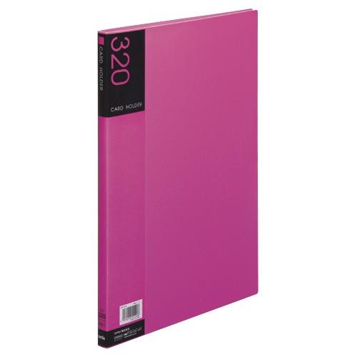 セキセイSEKISEINPP-320名刺ホルダー(溶着式)320名ピンク