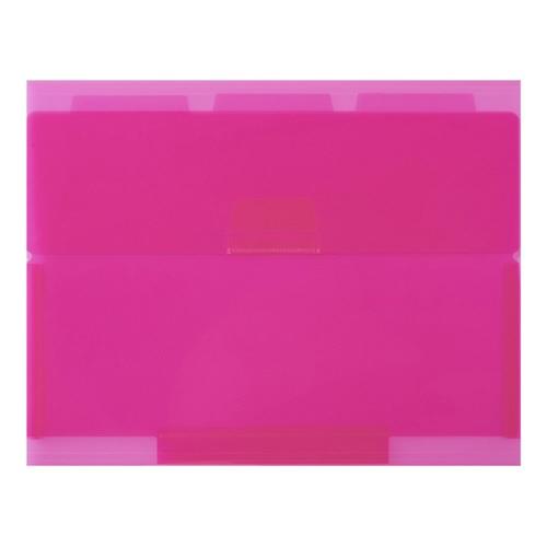 セキセイSEKISEINE-5435ネオンワンルーズリーフケースB5ピンク