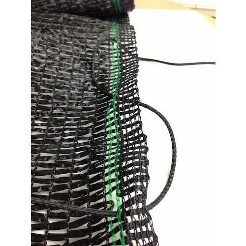 ダイオ化成DioChemicalsDio遮光ネットカーテンタイプ遮光率65%2m×2m黒231244