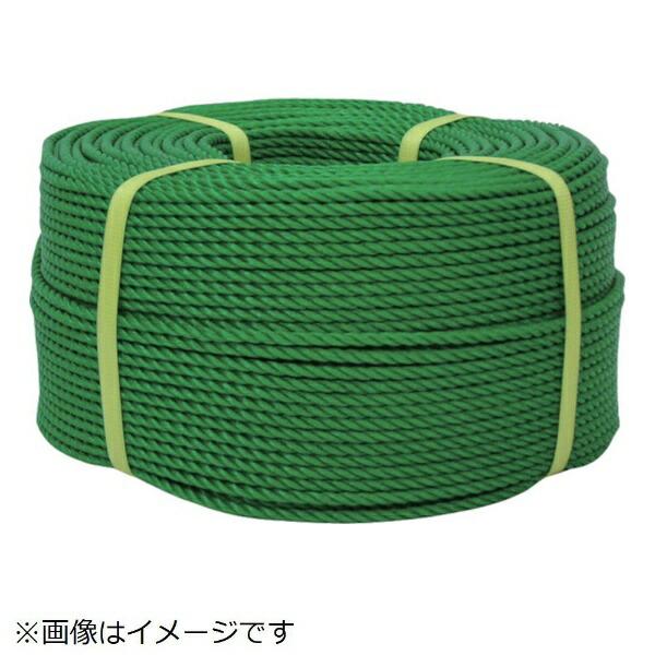 ユタカメイクYUTAKAユタカメイクロープPEロープ巻物9φ×200mグリーン