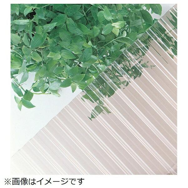 三菱樹脂MitsubishiPlasticsヒシ波板ヒシ波ポリカ7尺クリアTNP7C《※画像はイメージです。実際の商品とは異なります》【メーカー直送・代金引換不可・時間指定・返品不可】