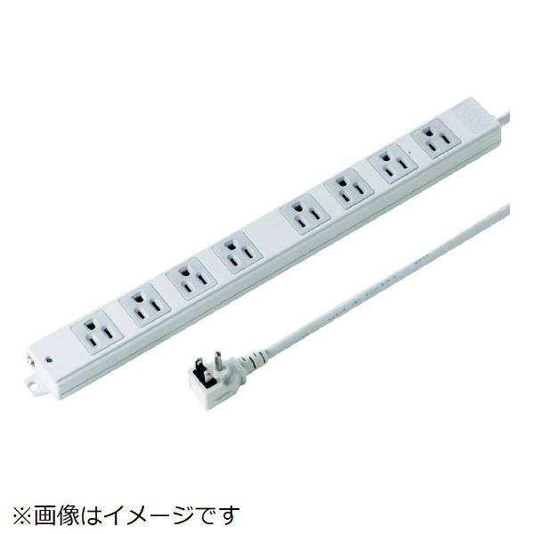 サンワサプライSANWASUPPLY工事物件タップTAP-K8NL-5[5.0m/8個口/スイッチ無]