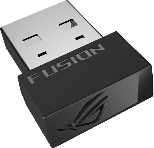 ASUSエイスースROGStrixFusionWirelessゲーミングヘッドセットROGStrixFusion[ワイヤレス(USB)/両耳/ヘッドバンドタイプ][ROGSTRIXFWIRELESS]