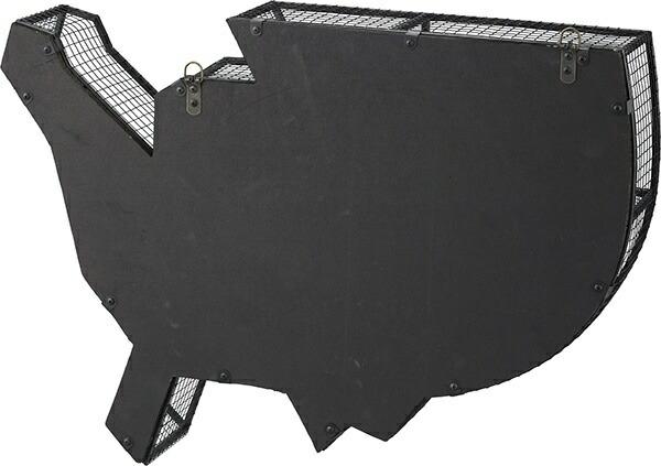 東谷AZUMAYAウォールラックLFS-591B(W74×D15.5×H52cm)