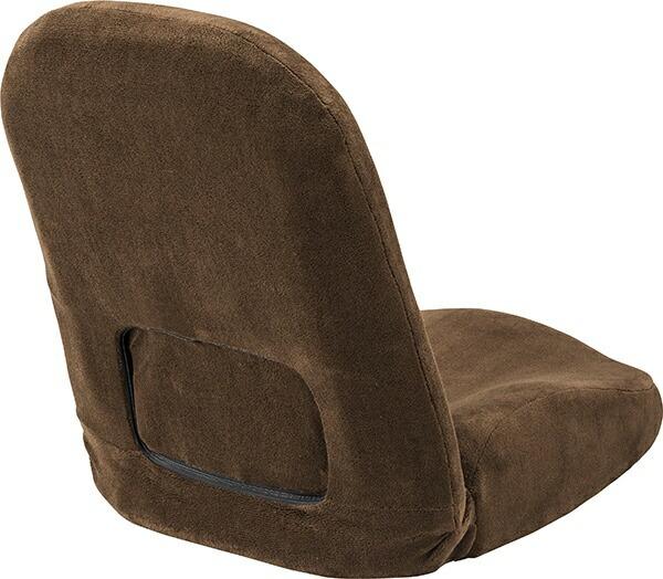 東谷AZUMAYA【座椅子】腰サポートリクライナーRKC-172BR(W47×D61-103×H58-14×SH8cm)