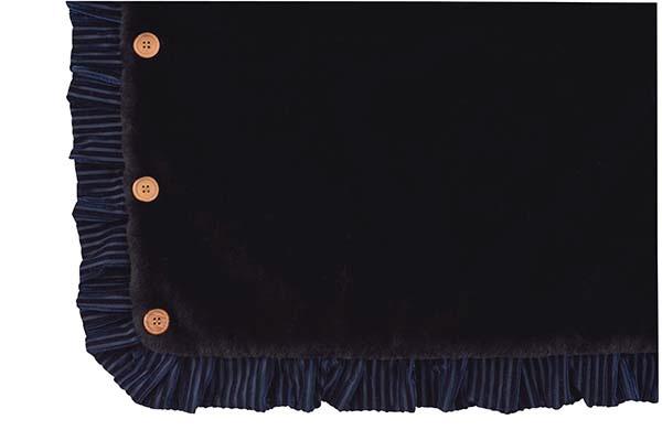 東谷AZUMAYA3WAYブランケットGLS-481BK(W130×D60cm)