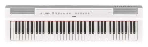 ヤマハYAMAHAP-121WH電子ピアノPシリーズ