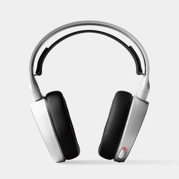 STEELSERIESスティールシリーズ61507有線ゲーミングヘッドセットArctis5ホワイト[φ3.5mmミニプラグ+USB/両耳/ヘッドバンドタイプ][61507]