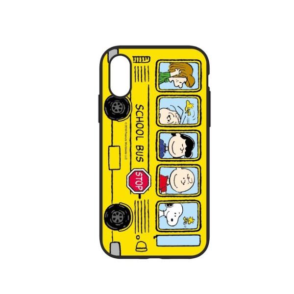 グルマンディーズgourmandiseiPhoneXS5.8インチ用ピーナッツIIIIfitケース