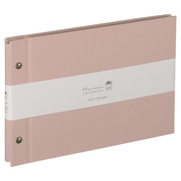ナカバヤシNakabayashiハルマー外ビス式A5サイズAHRA5101Pピンク