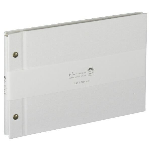 ナカバヤシNakabayashiハルマー外ビス式A5サイズAHRA5101Wホワイト