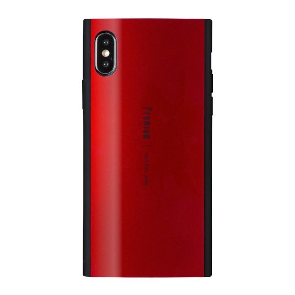 ナチュラルデザインNATURALdesigniPhoneXS5.8インチ用背面ケースPremiumRed