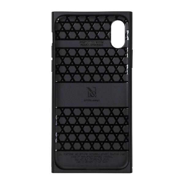 ナチュラルデザインNATURALdesigniPhoneXS5.8インチ用背面ケースPremiumBlue