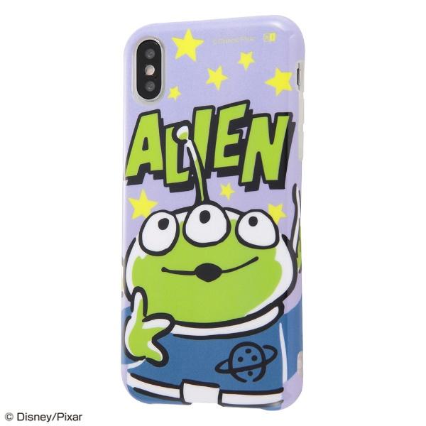 イングレムIngremiPhoneXS5.8インチ用『ディズニー・ピクサーキャラクター』/TPUソフトケースColorapIN-DP20CP1/AL『トイ・ストーリー/リトル・グリーン・メン』
