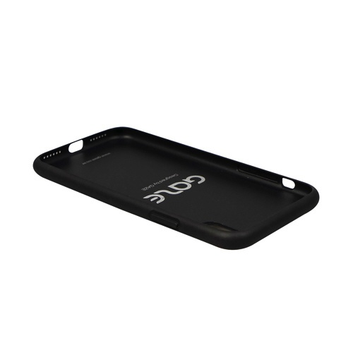 ROAロアiPhoneXS5.8インチ用GlitterOXSilver