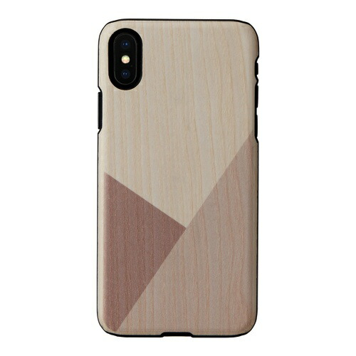 ROAロアiPhoneXS5.8インチ用天然木ケースuv3