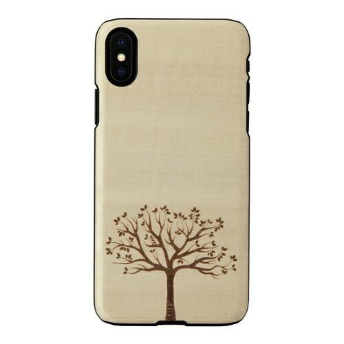 ROAロアiPhoneXS5.8インチ用天然木ケース木