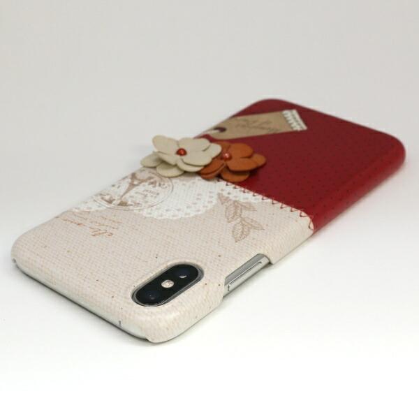 ROAロアiPhoneXS5.8インチ用MemoriseofParis-Burgundy