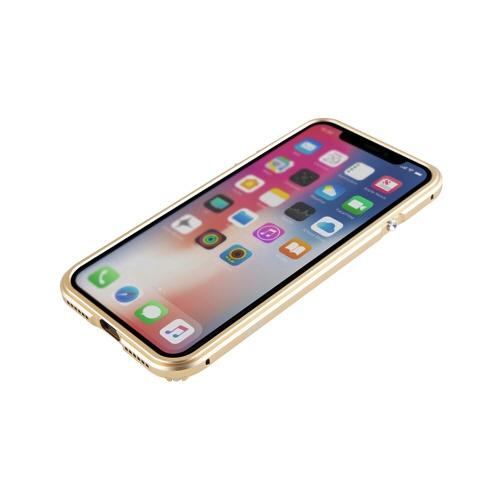 ROAロアiPhoneXR6.1AluminumBumperRazorFit