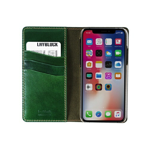 ROAロアiPhoneXR6.1TuscanyBellyグリーン