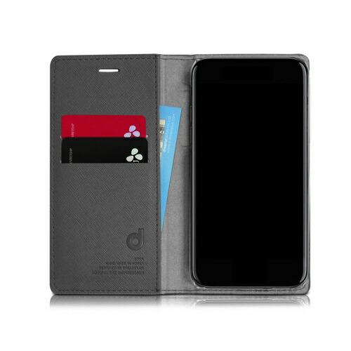 ROAロアiPhoneXR6.1PersianLeatherDiaryゴールド