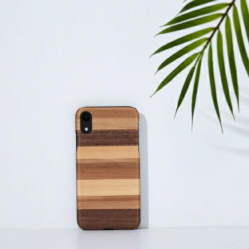 ROAロアiPhoneXR6.1天然木ケースSabbia