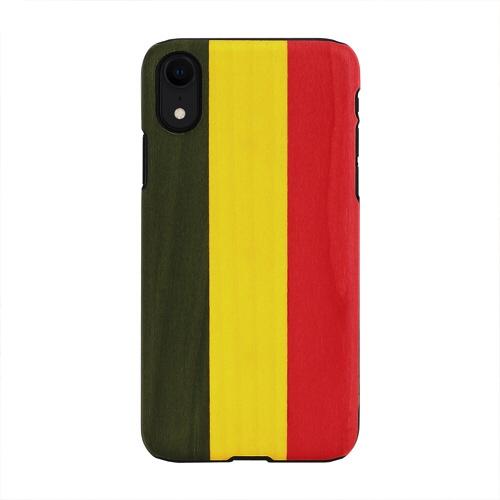 ROAロアiPhoneXR6.1天然木ケースReggea