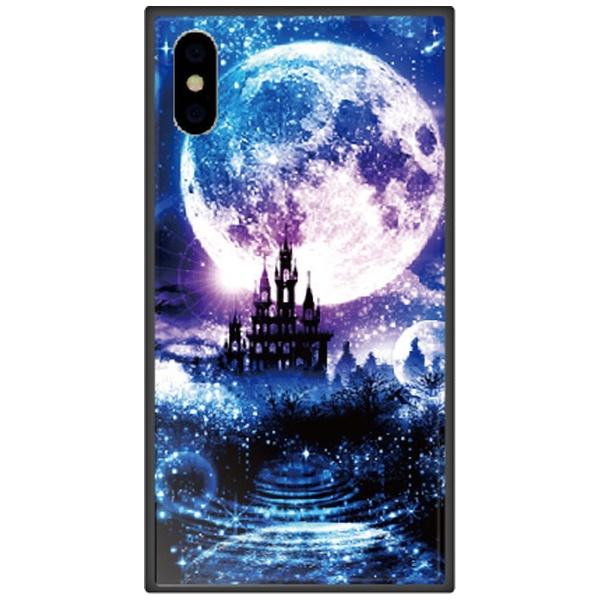 藤家FujiyaiPhoneXSMax6.5インチ用幻想デザインガラスハイブリッドK.星月夜
