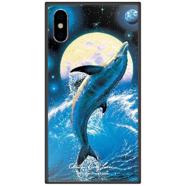 藤家FujiyaiPhoneXSMax6.5インチ用ラッセンガラスハイブリッドE.THEBALANCEOFLIFE