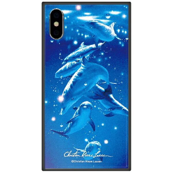 藤家FujiyaiPhoneXSMax6.5インチ用ラッセンガラスハイブリッドA.MAGICALMOMENT