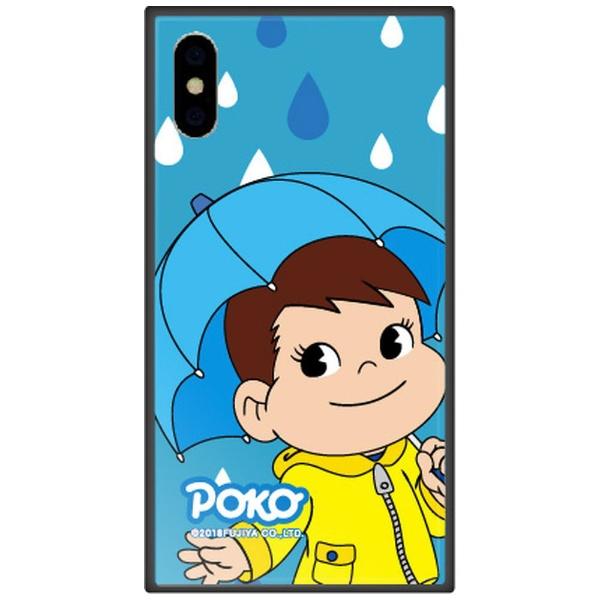 藤家FujiyaiPhoneXSMax6.5インチ用不二家ガラスハイブリッドM.レイニーポコ