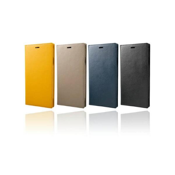 坂本ラヂヲiPhoneXSMax6.5インチ用ItalianGenuineLeatherBook
