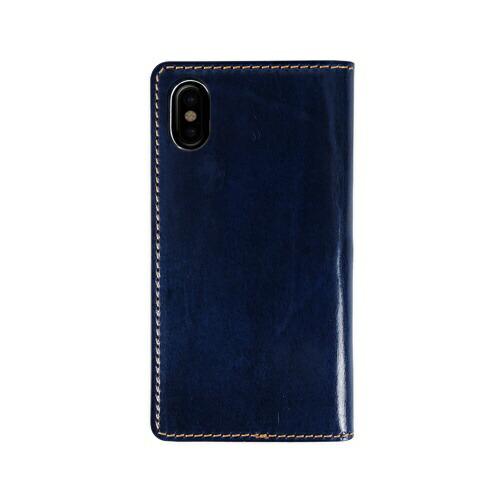ROAロアiPhoneXSMax6.5インチ用TuscanyBellyネイビー