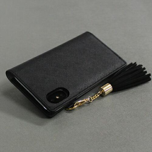 ROAロアiPhoneXSMax6.5インチ用TasselJacketブラック