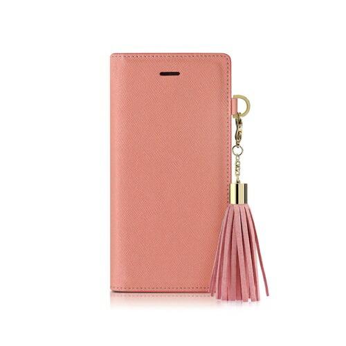 ROAロアiPhoneXSMax6.5インチ用TasselJacketピンク