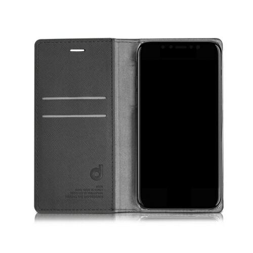 ROAロアiPhoneXSMax6.5インチ用WannabeLeathrerDiaryネイビー