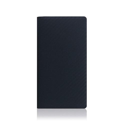 ROAロアiPhoneXSMax6.5インチ用carbonleathercaseネイビー