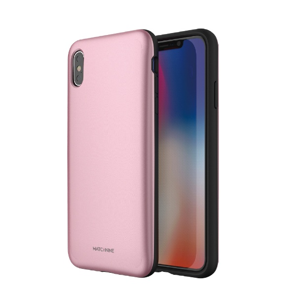 ROAロアiPhoneXSMax6.5インチ用PINTAローズゴールド