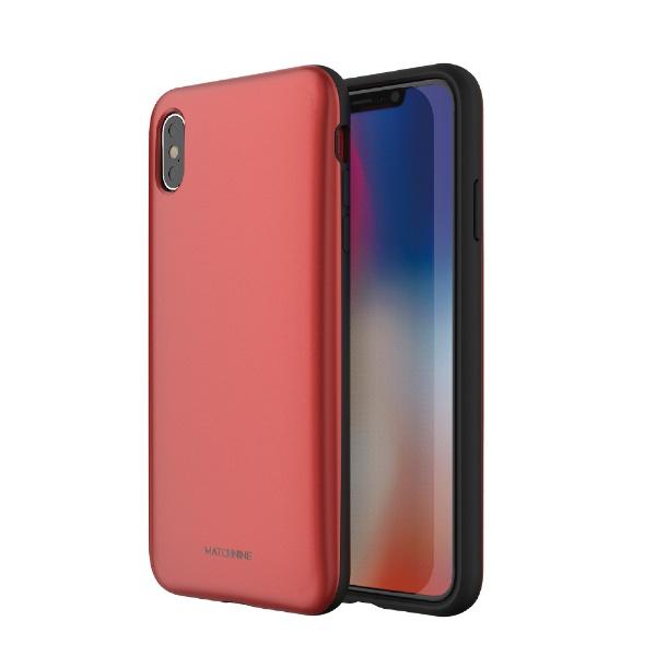 ROAロアiPhoneXSMax6.5インチ用PINTAレッド
