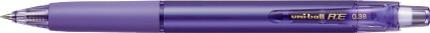 三菱鉛筆MITSUBISHIPENCIL[ゲルインクボールペン]ユニボールR:E(ボール径:0.38mm、インク色:バイオレット)URN18038.12バイオレット