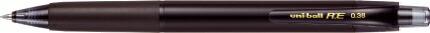 三菱鉛筆MITSUBISHIPENCIL[ゲルインクボールペン]ユニボールR:E(ボール径:0.38mm、インク色:オフブラック)URN18038.24オフブラック