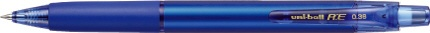 三菱鉛筆MITSUBISHIPENCIL[ゲルインクボールペン]ユニボールR:E(ボール径:0.38mm、インク色:コバルトブルー)URN18038.33コバルトブルー