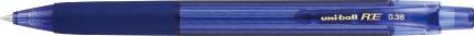 三菱鉛筆MITSUBISHIPENCIL[ゲルインクボールペン]ユニボールR:E(ボール径:0.38mm、インク色:オフブラック)URN180C38.9ネイビー