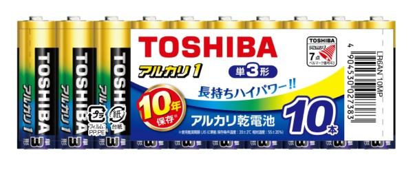 東芝TOSHIBALR6AN10MP単3電池アルカリ1[10本/アルカリ]