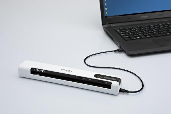 エプソンEPSONES-60WWスキャナーホワイト[A4サイズ/Wi-Fi/USB][ES60WW]