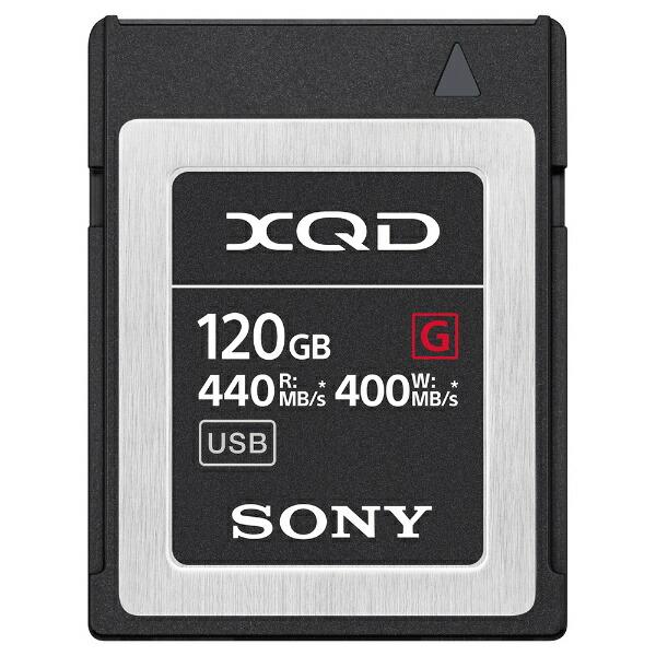 ソニーSONYXQDメモリーカードGシリーズQD-G120F[120GB][QDG120F]