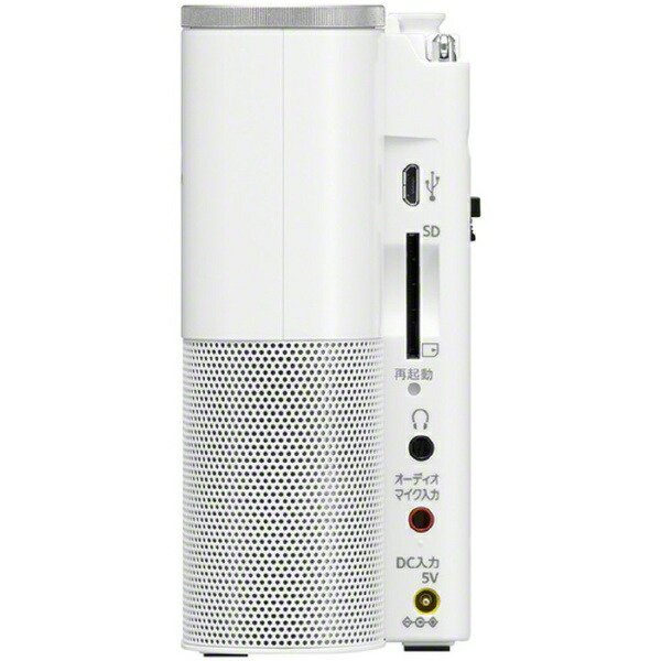 ソニーSONY携帯ラジオICZ-R260TV[FM/ワイドFM対応][ラジオ録音機能付きICZR260TV]