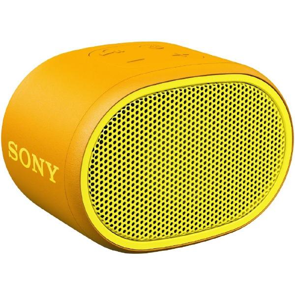 ソニーSONYブルートゥーススピーカーイエローSRS-XB01YC[Bluetooth対応][SRSXB01YC]