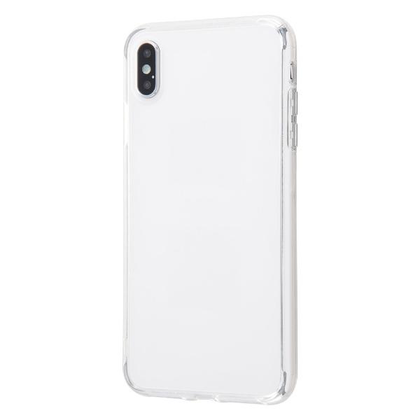 イングレムIngremiPhoneXSMaxハイブリッドケースクリアタフ/クリアINA-P19CC2/CMクリア