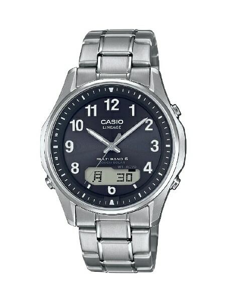 カシオCASIO[ソーラー電波時計]LINEAGE(リニエージ)LCW-M100TSE-1A2JF